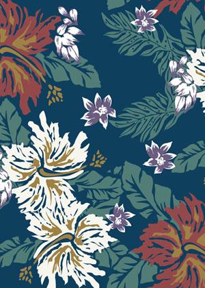 Classic aloha pattern